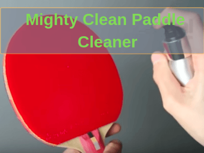 Mighty Clean Ping Pong Paddle Cleaner