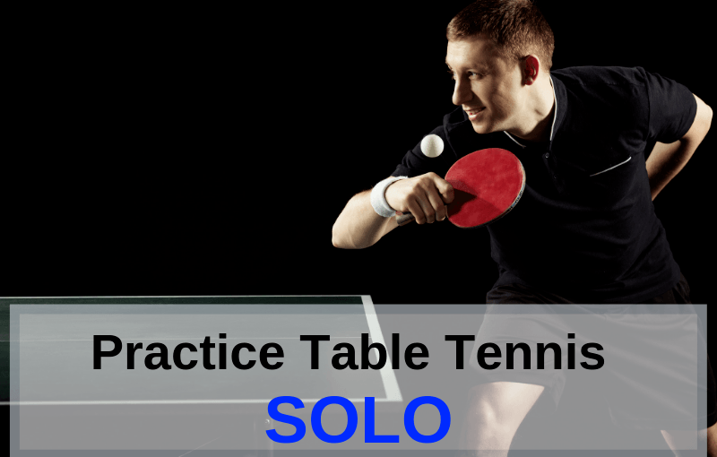 Practice Table Tennis Alone