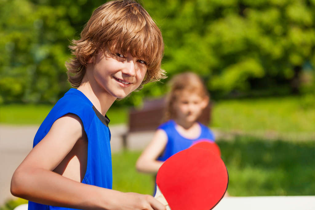 Table Tennis For Kids