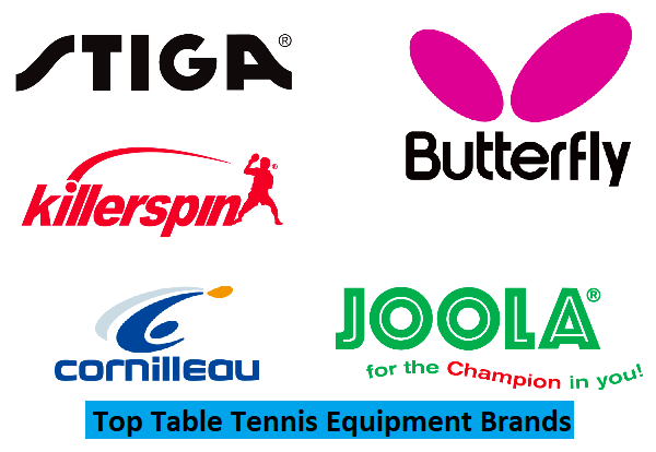 Top Table Tennis Equipment Brands Pingpongbros