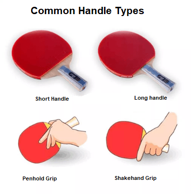 Table Tennis Racket handle Type