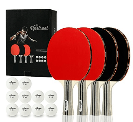 Upstreet Ping Pong Paddle Set Review