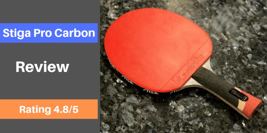 Stiga Pro Carbon Racket Review