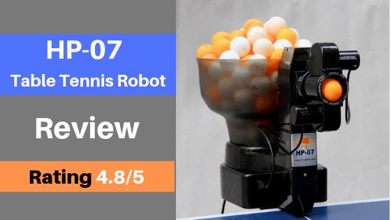 hp 07 table tennis robot