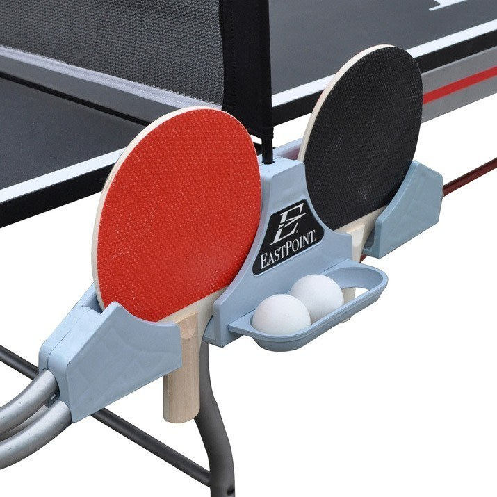 Paddle and ball holder