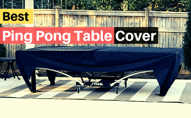 best ping pong table cover review