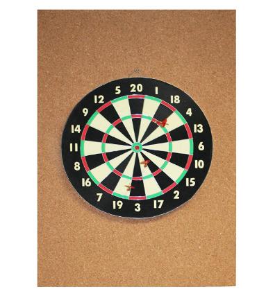 Cork Dart Board Backer Review