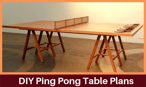 7 Best Homemade Diy Ping Pong Table Plans Ppb