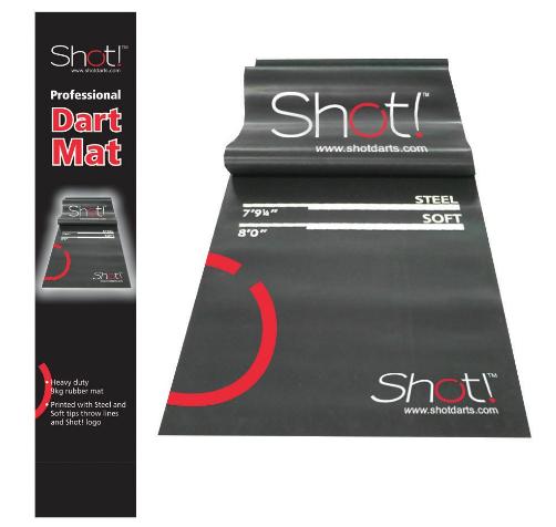 Shot! Darts Professional Dart Mat-Dart Points and Flooring Protector Review
