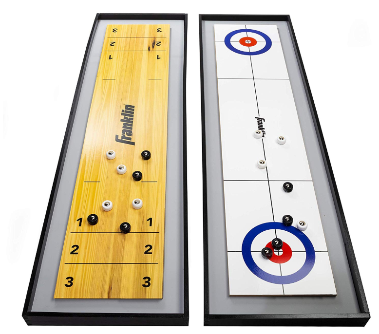 Franklin Sports 2-in-1 Shuffleboard Table and Curling Set Review
