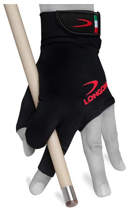 Longoni Black Fire 2.0 Billiard Pool CUE Glove Review