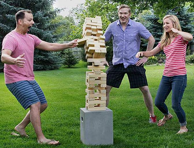 Yard Games Giant Tumbling Timbers