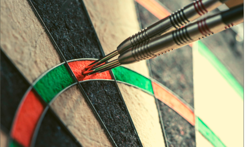 Anatomy of dartboards and darts