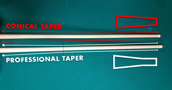 Pro taper vs normal taper