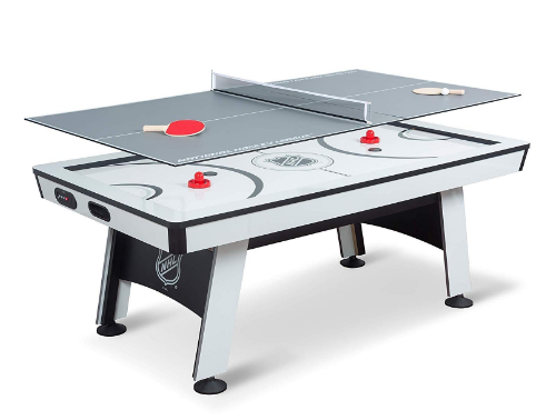 NHL Power Play Air Powered Hockey Table with Table Tennis Top Review